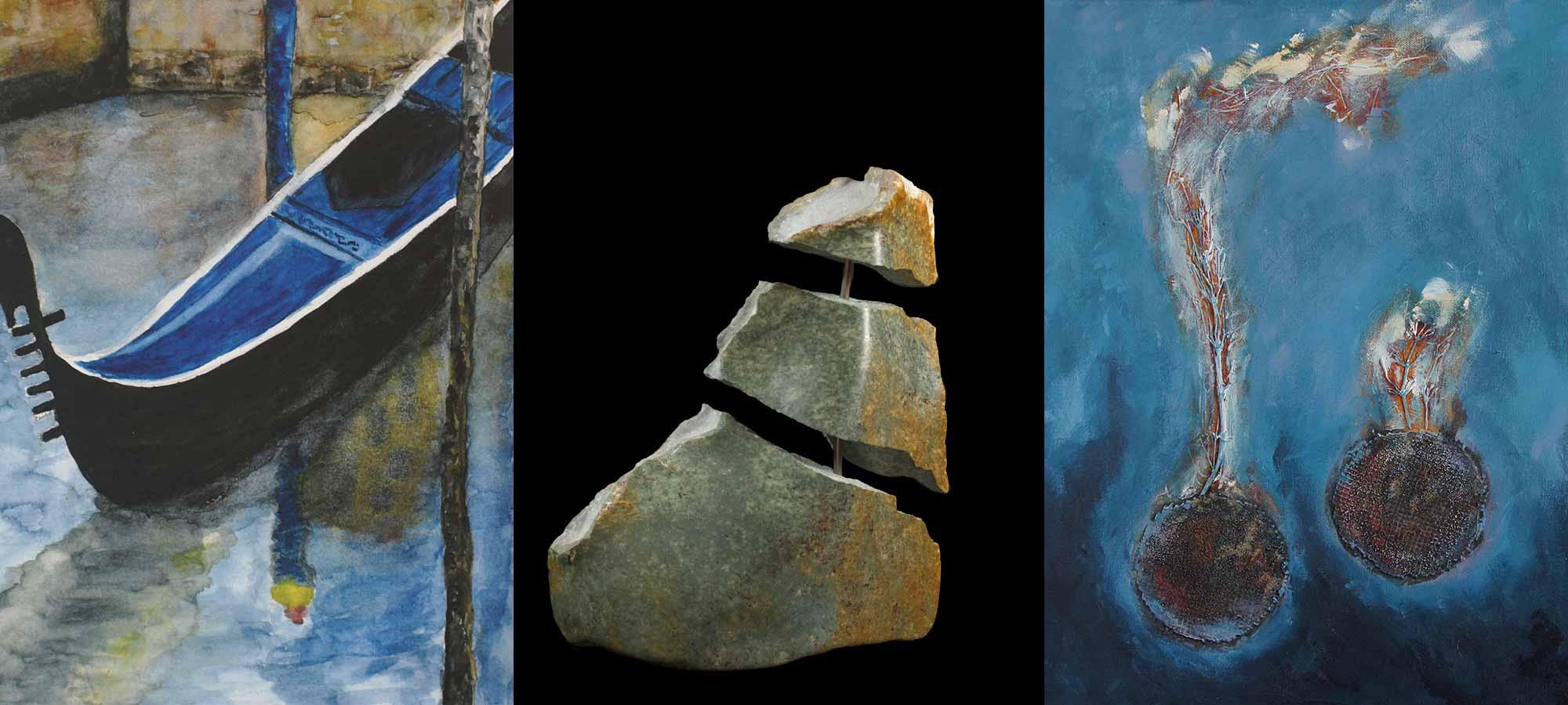 Kunstausstellung: Trialog 27. September bis 31. Dezember