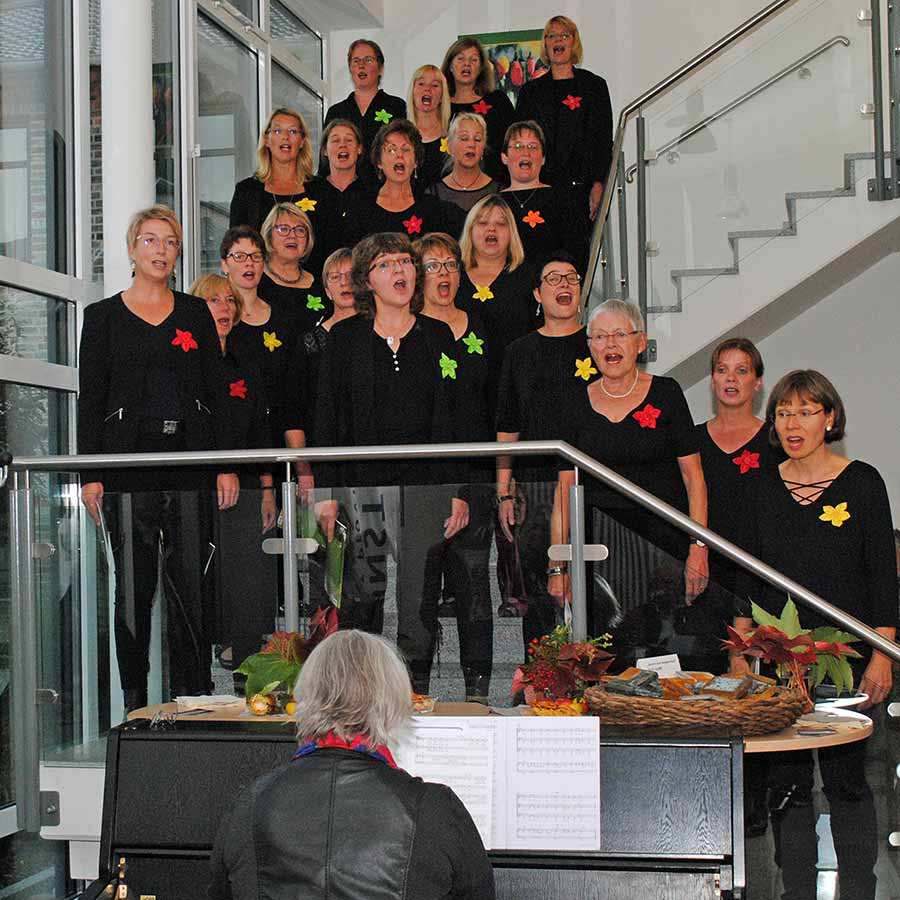 Vernissage Trialog mit Pop-Chor Wagenfeld