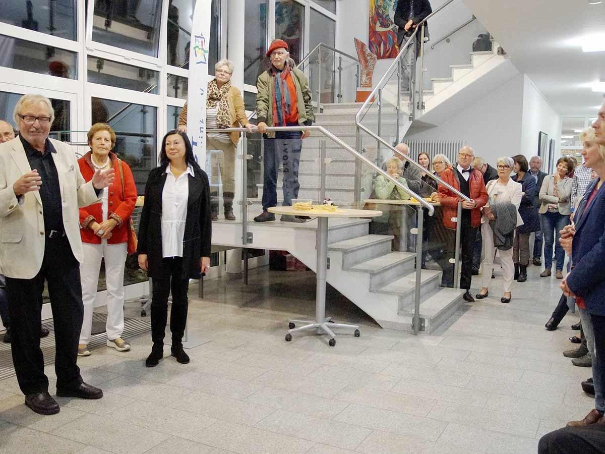 Ausstellung von Nadya Hauswald und Gert Schröder in Wagenfeld